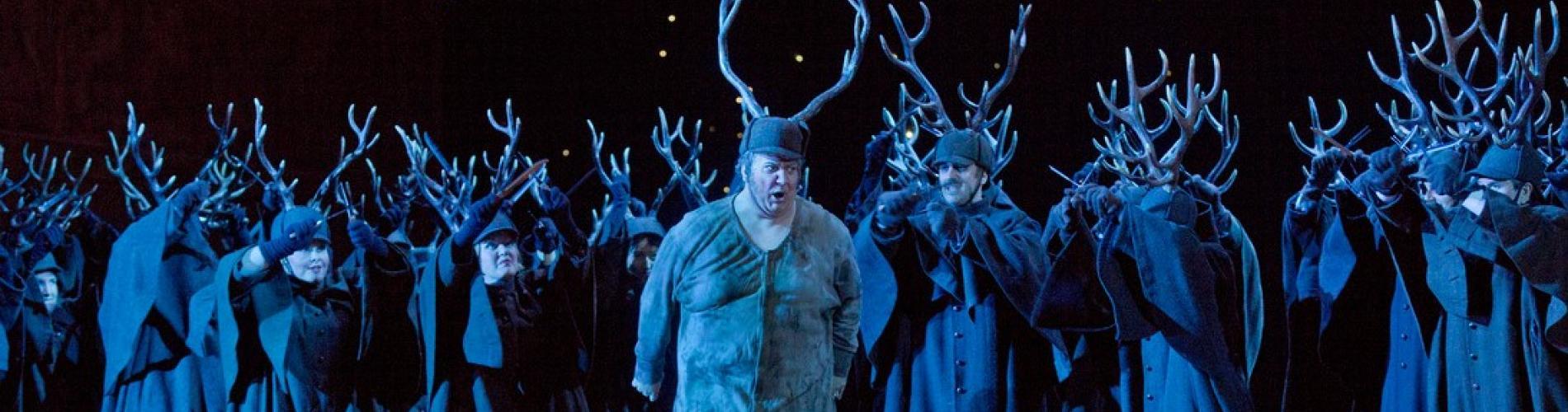 Falstaff at the Met - Photo: © ken howard/Metropolitan Opera