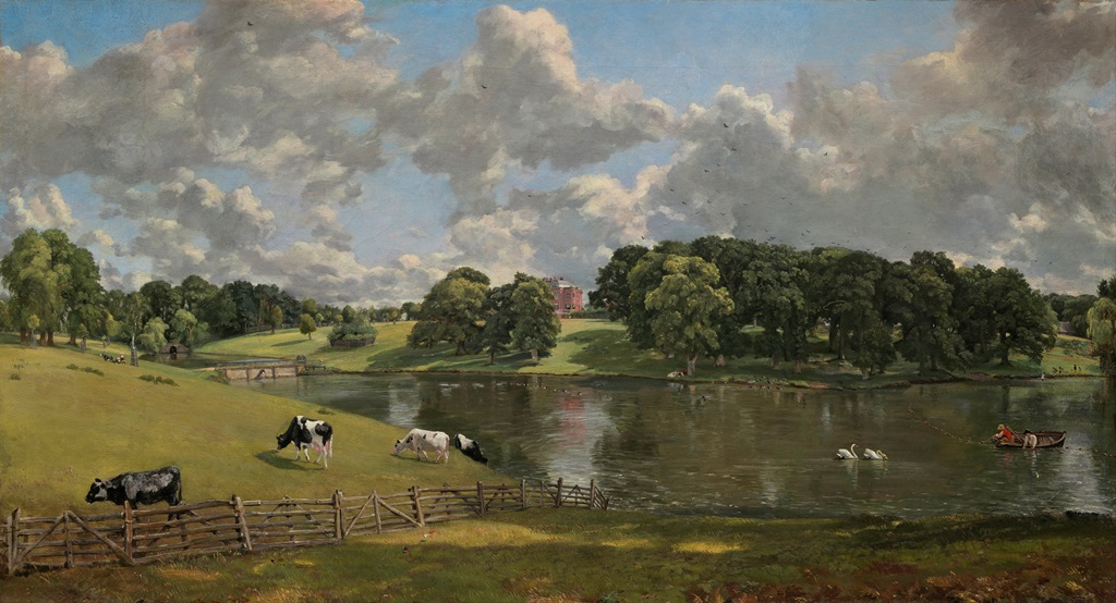 Wivenhoe Park by Constable